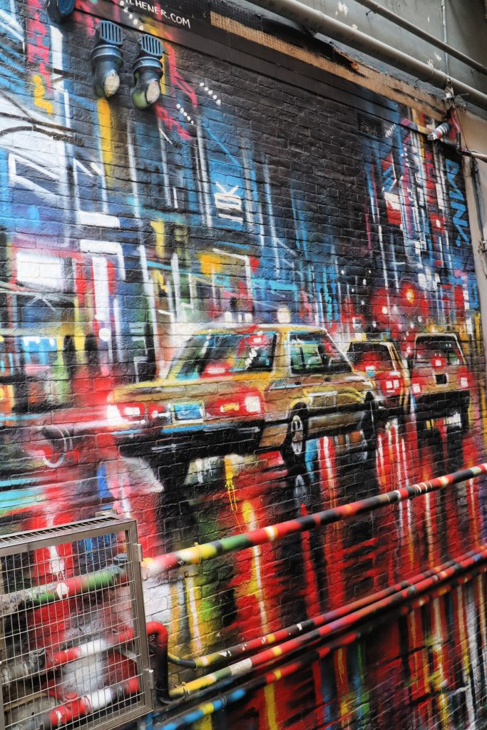 Graham street art Dan Kitchener