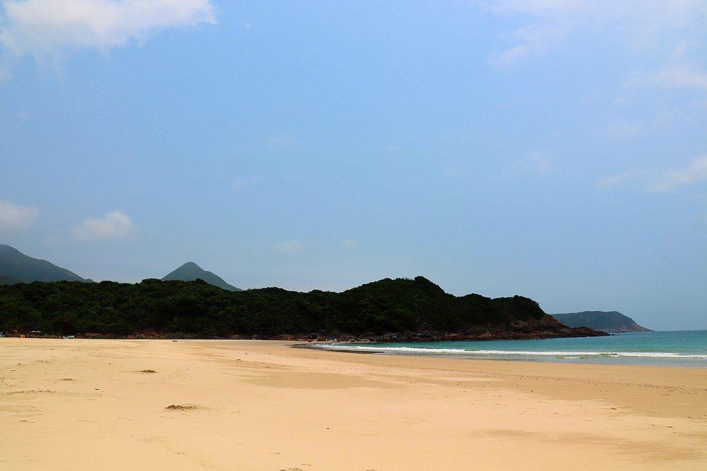 Hong Kong flotteste strand Ham Tin Beach