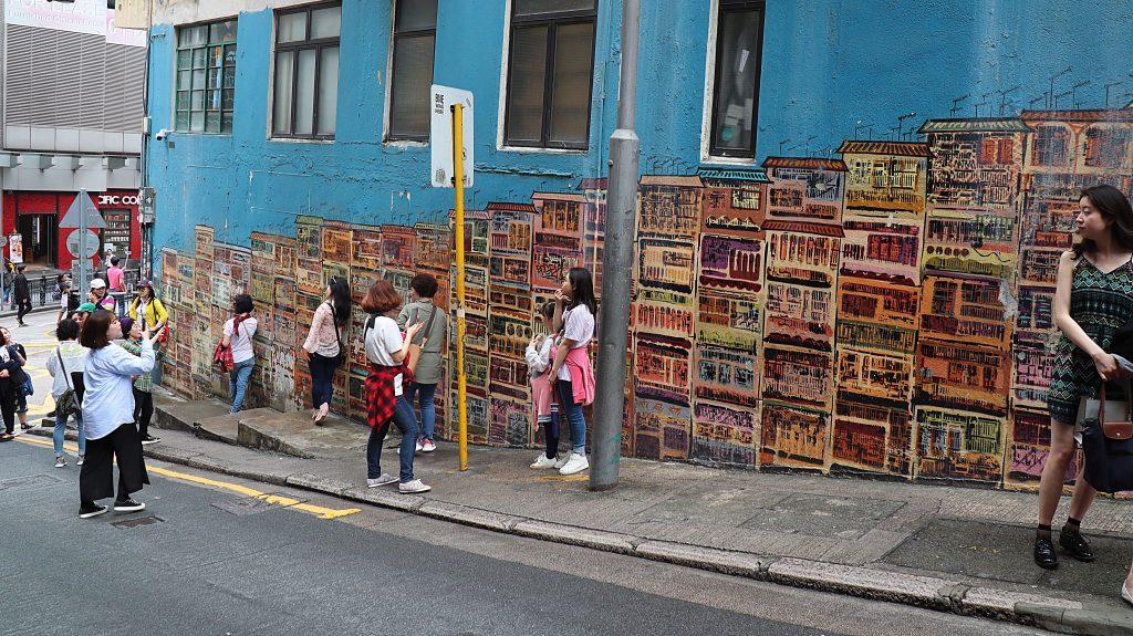 fedeste gadekunst i Old Town Central
