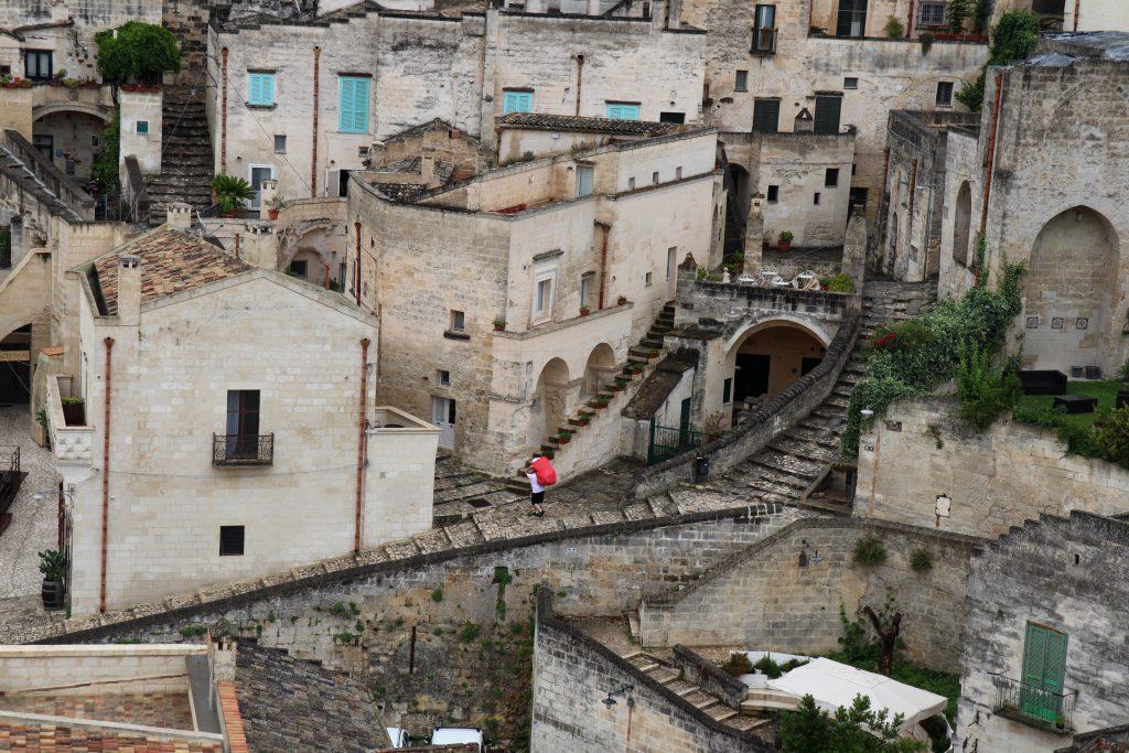 En tidlig arbejder i Sassi di Matera