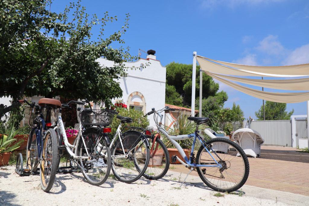 Gratis cykler på B&B Le Vele