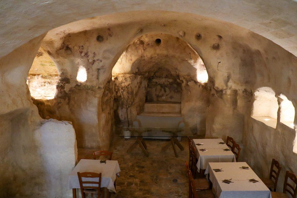Grotte restaurant Hotel Sassi