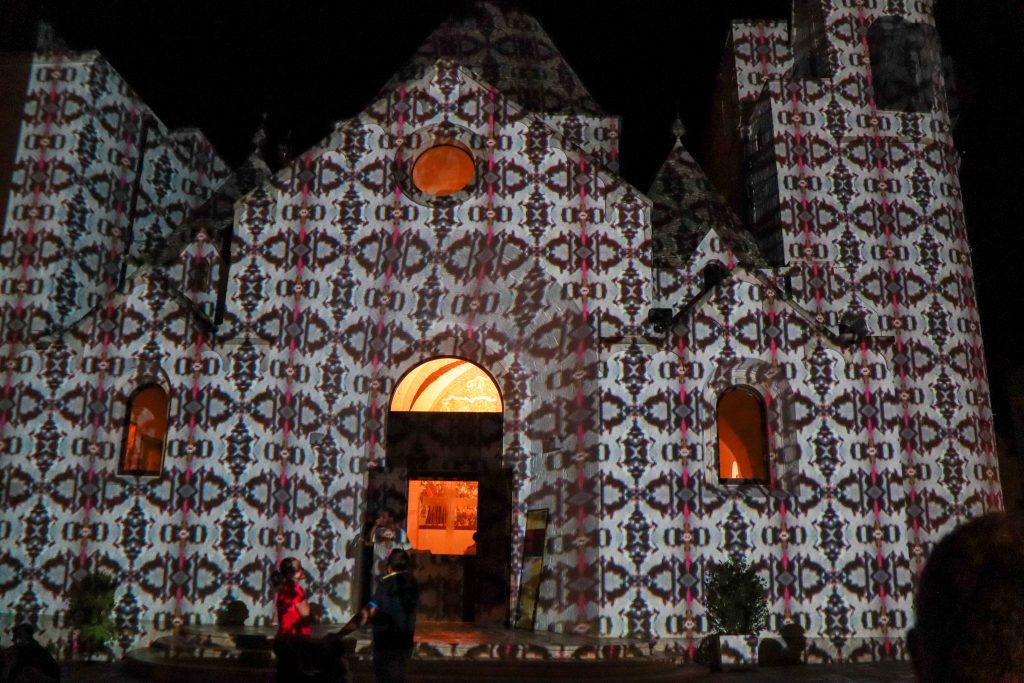 Lysshow i Rione Monti