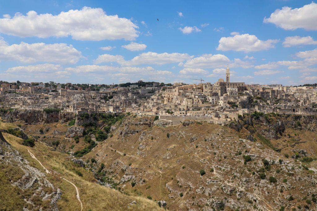 Panoramaudsigt over Sassi di Matera