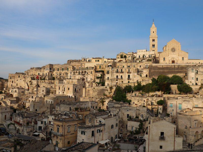 Hotel Sassi med ualmindelig smuk udsigt over Sassi di Matera