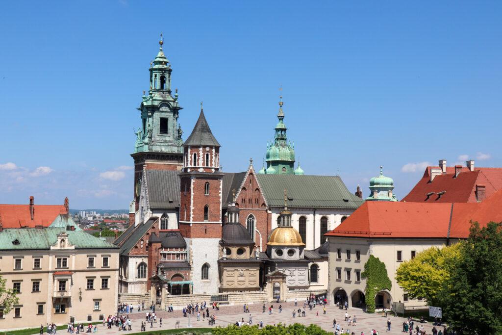 Det historiske centrum i Krakow