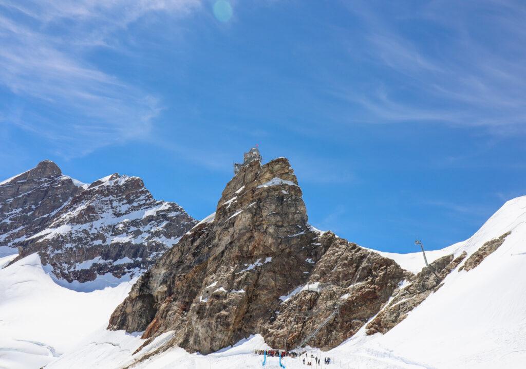 Jungfraujoch i Schweitz Unesco