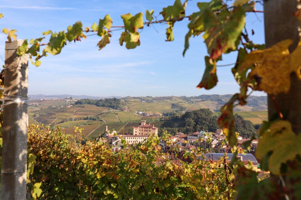 UNESCO World Heritage 2018 Langhe vinområde Italien