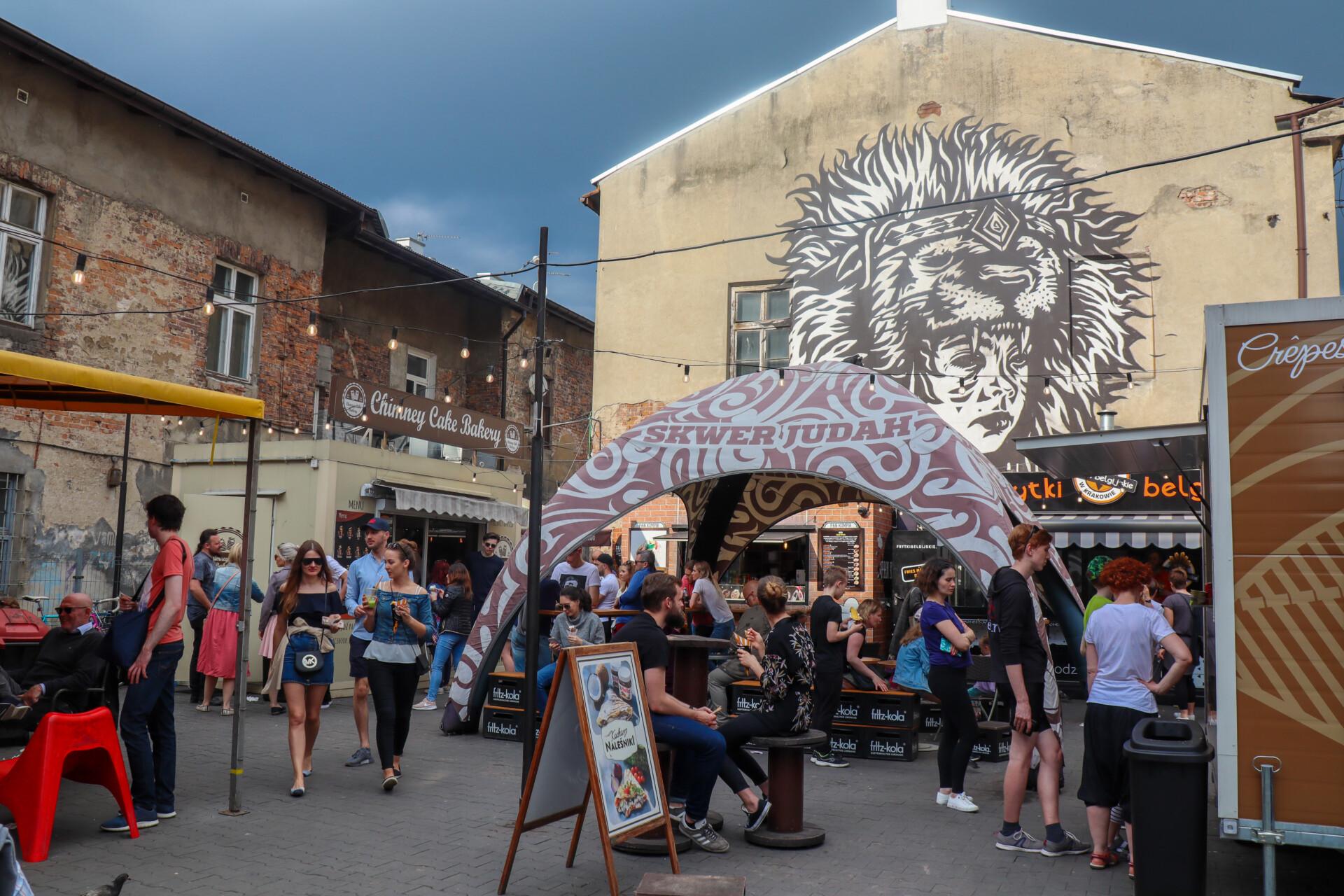 Smag på det lækre Street food i Krakow